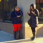 Standing outside Starbucks - #2