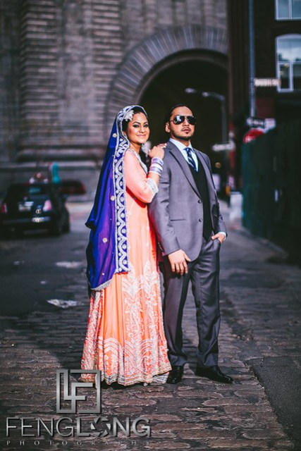 New York City Muslim Hindu Fusion Wedding | The Brooklyn Spot DUMBO Valima