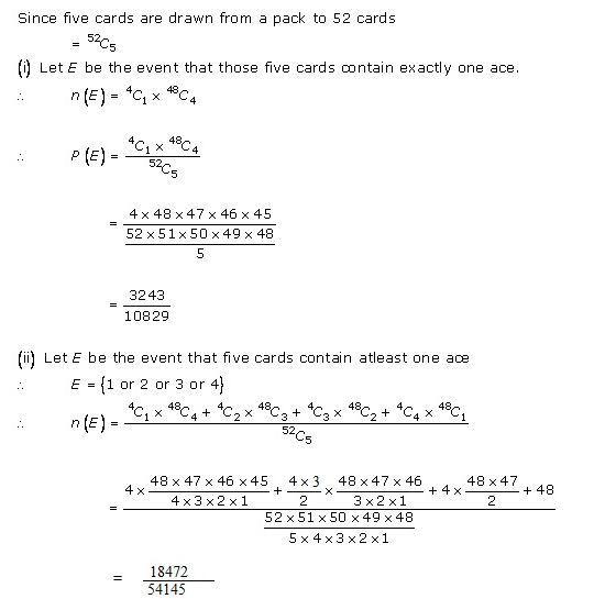 RD-Sharma-class-11 Solutions-Chapter-33-Probability-Ex-33.3-Q-18