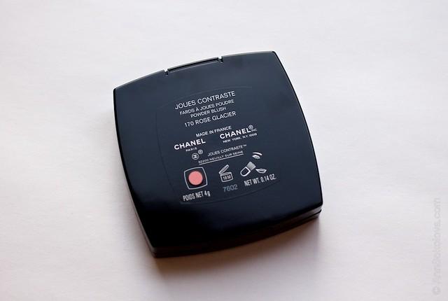 03 Chanel   Joues Contraste Powder Blush 170 Rose Glacier