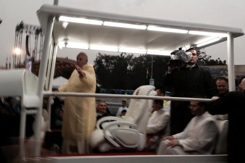 Pope's camera man