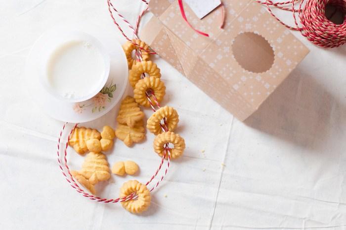 Christmas Custard Cookies