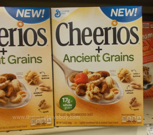 Cheerios Ancient Grains