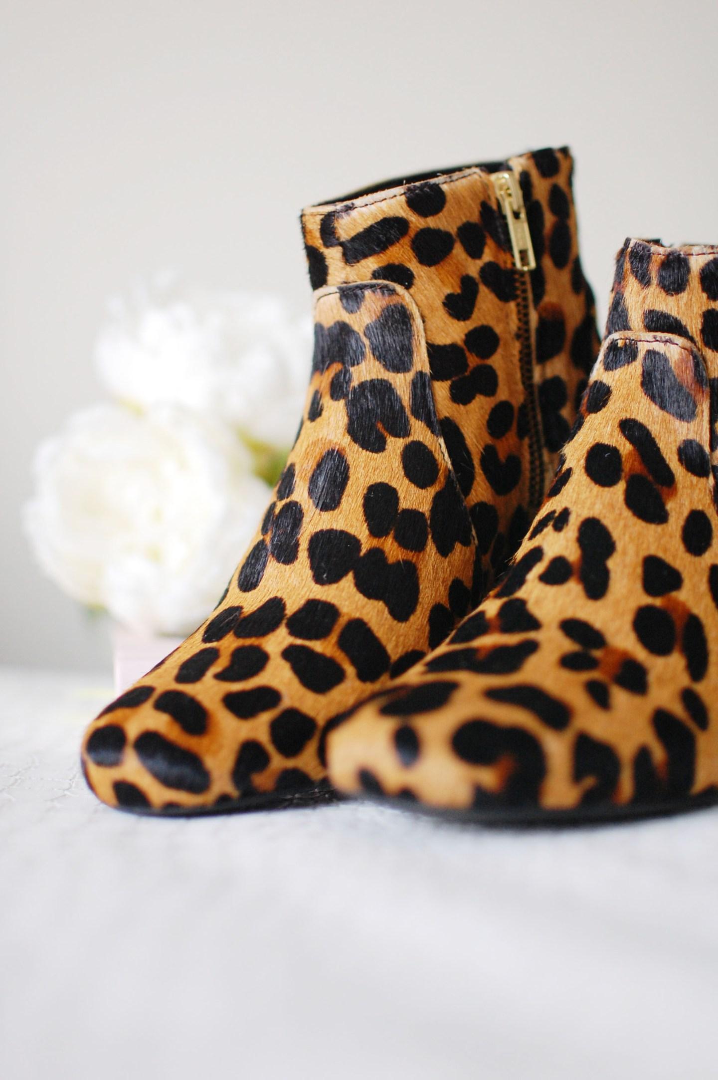 Leopard Print Boots 1