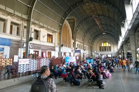 Main Hall of Stasiun Jakarta Kota