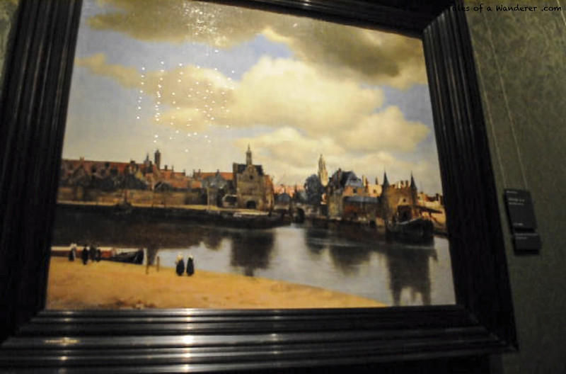 DEN HAAG - Mauritshuis - Gezicht op Delft (Johannes Vermeer, ca. 1660-1661)