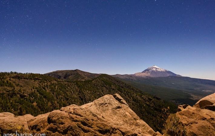 El Teide at Night #2 - Nikon D800E & Nikkor 2,8/14-24mm