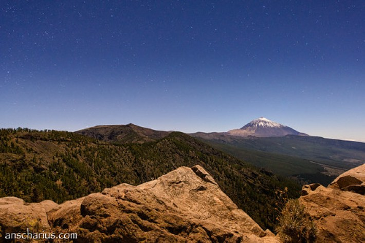 El Teide at Night #2 - Nikon D800E & Nikkor 2,8/14-24mm