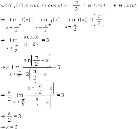 RD Sharma Class 12 Solutions Chapter 9 Continuity Ex 9.1 Q25