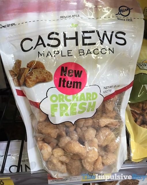 HInes Orchard Fresh Maple Bacon Cashews