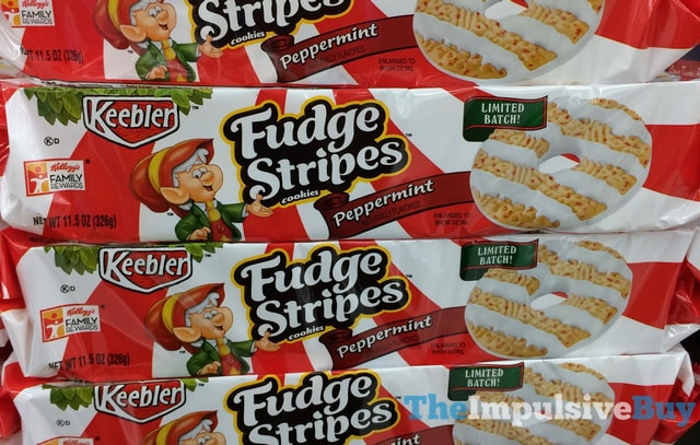 Keebler Limited Batch Peppermint Fudge Stripes Cookies