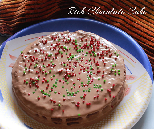 Rich Chocolate Cake1