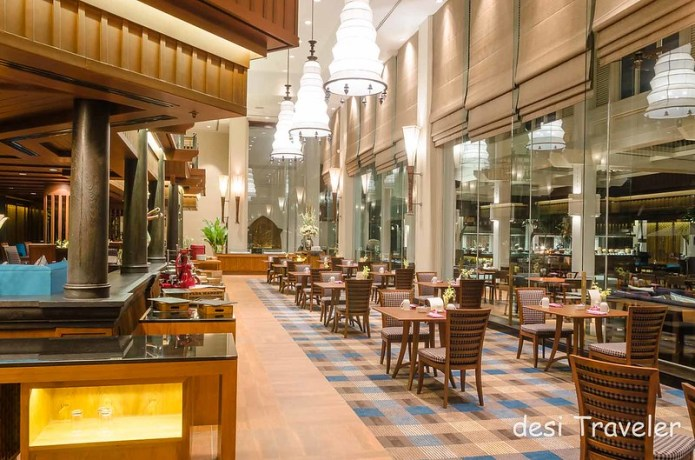 The Market Restaurant Anantara Riverside Resort Bangkok