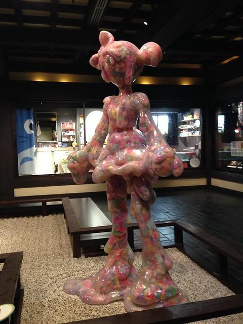 'Melty-Go-Round' (Harajuku Girl) by Sebastian Masuda, Kawaii Exhibit, Japan World Showcase, Epcot WDW
