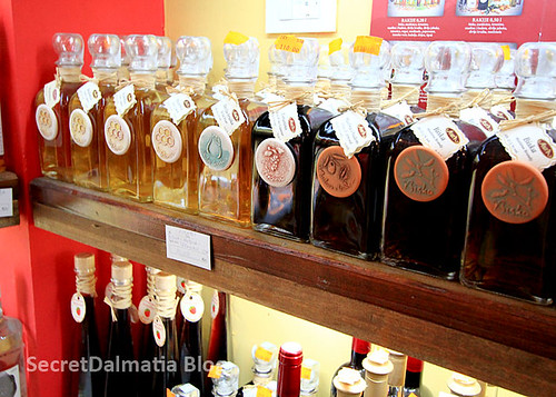 Small part of their great selection of superb rakija!