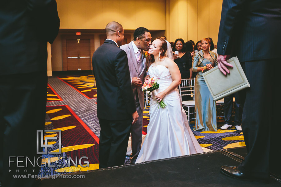 Marriott Marquis Wedding Photographer