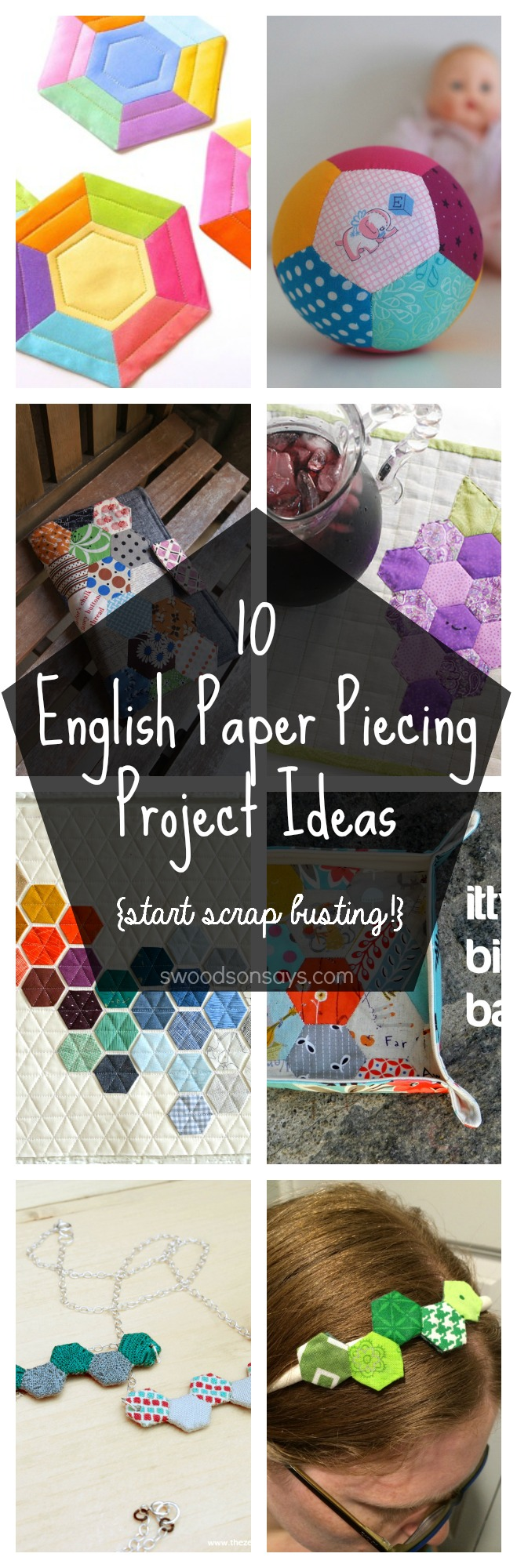 English Paper Piecing Tutorials