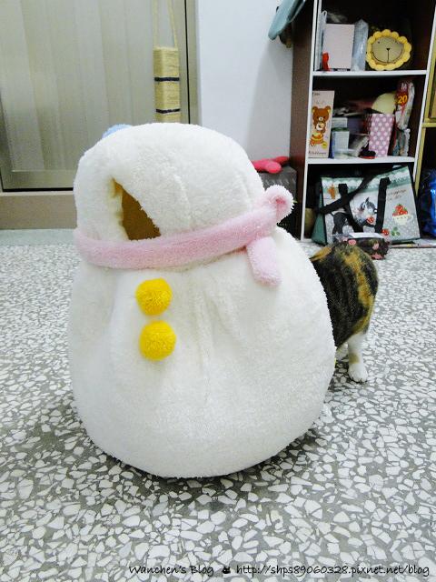 日本CattyMan 貓咪雪人睡窩