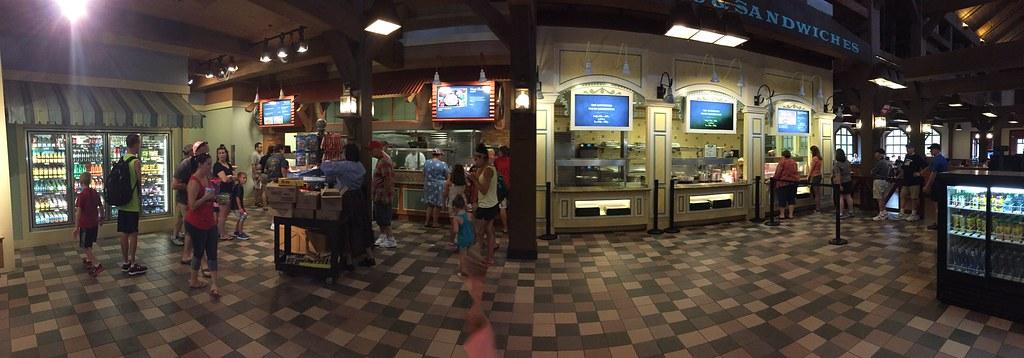 Food Court @ Port Orleans Riverside