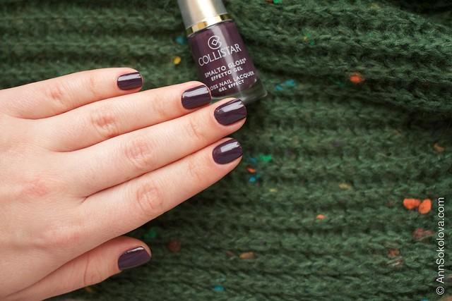 10 Collistar Gloss Nail Lacquer #563 Borgogna Anna