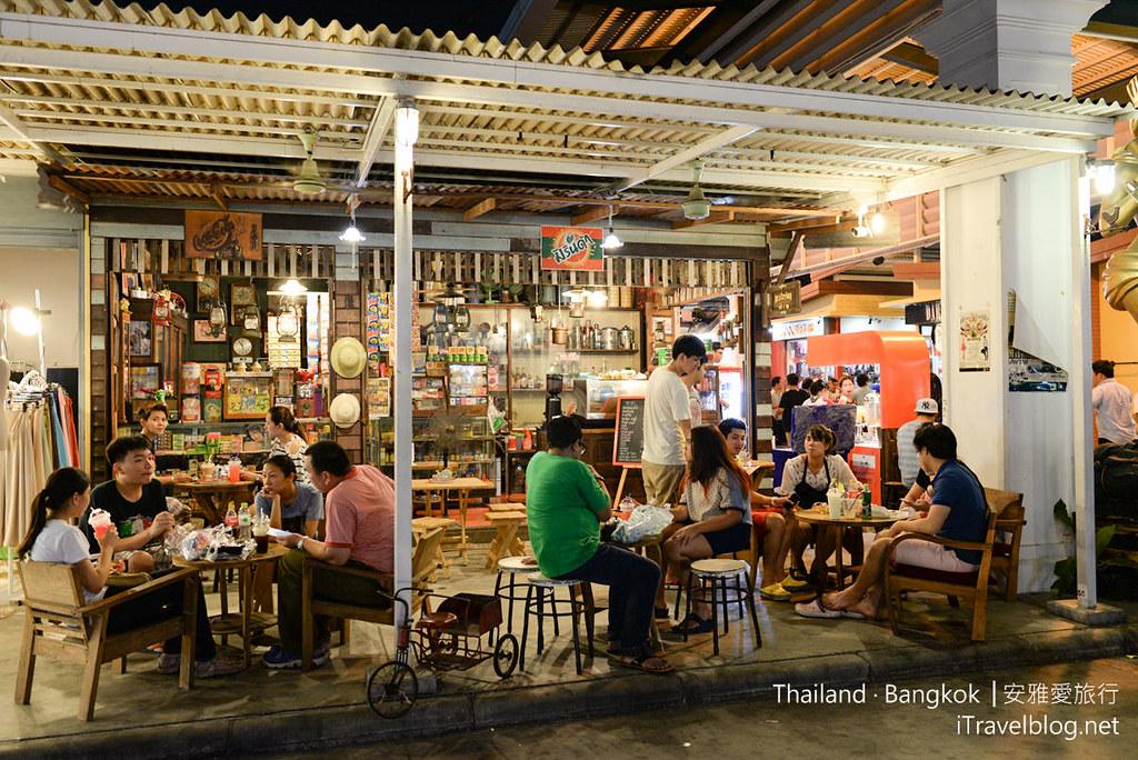 曼谷席娜卡琳火車鐵道夜市 Train Night Market Srinakarin 30