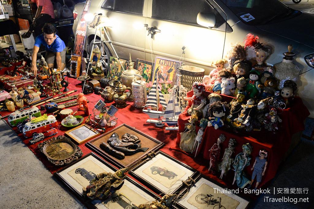 曼谷席娜卡琳火車鐵道夜市 Train Night Market Srinakarin 56