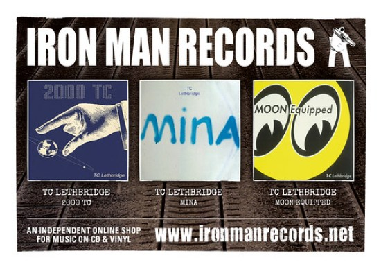 TC Lethbridge - 2000 TC, Mina and Moon Equipped released 23rd November 2014 on Iron Man Records
