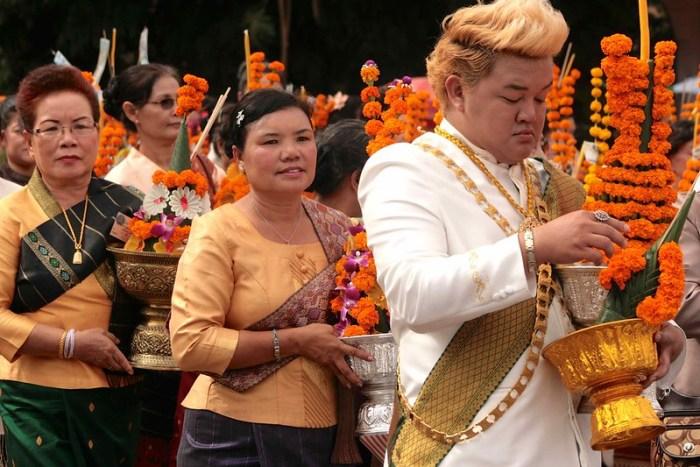 Festival Religioso, Vientiane, Laos ©evaespinet