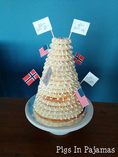 New Year's Eve Kransekake