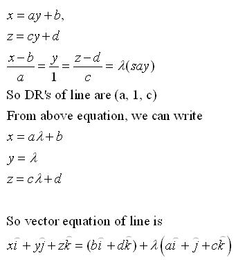 RD Sharma Class 12 Solutions Chapter 28 Straight Line in Space Ex 28.1 Q10