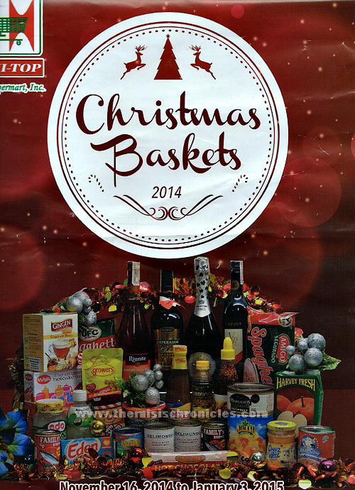 Christmas Baskets from Hitop Supermarket