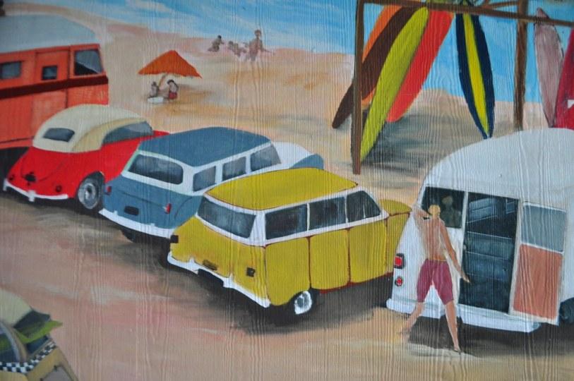 Mural at Sand on the Beach - Melbourne Beach, Fla., Nov. 8, 2014