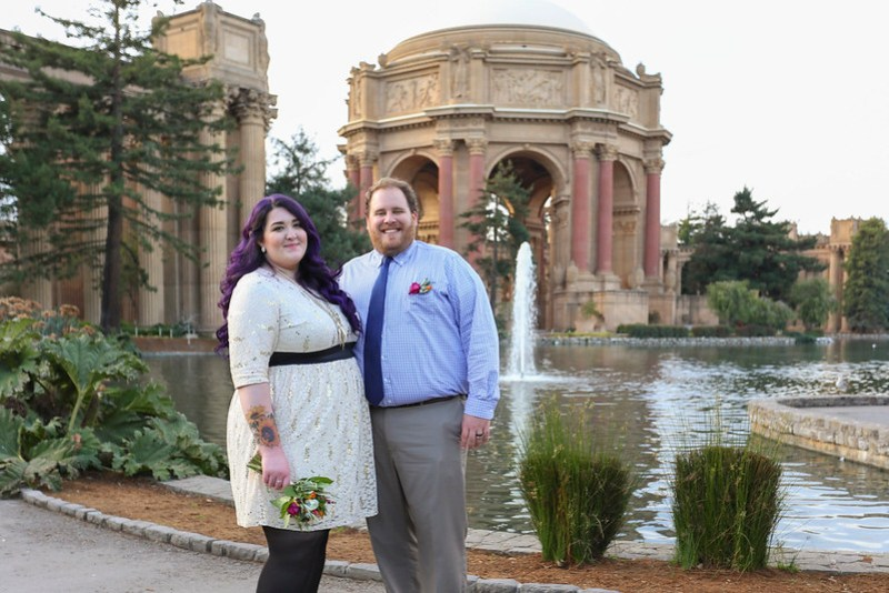 San Francisco Palace of Fine Arts Wedding Photos