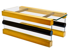 """""""Donald"""" coffee table by Sottssass"""