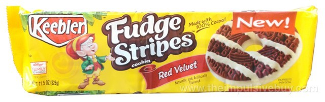 Keebler Red Velvet Fudge Stripes Cookies