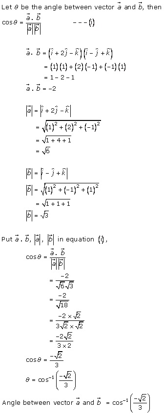 RD Sharma Class 12 Solutions Chapter 24 Scalar or Dot Product Ex 24.1 Q5-v