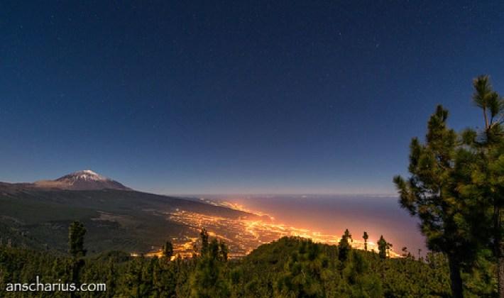 El Teide at Night #1 - Nikon D800E & Nikkor 2,8/14-24mm