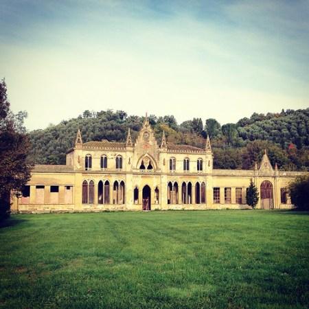 La bigattiera di Villa Roncioni