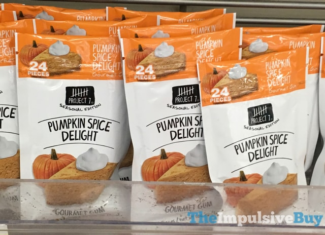 Project 7 Seasonal Edition Pumpkin Spice Delight Gourmet Gum