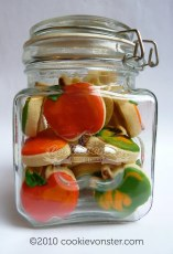 Jar of mini Apples