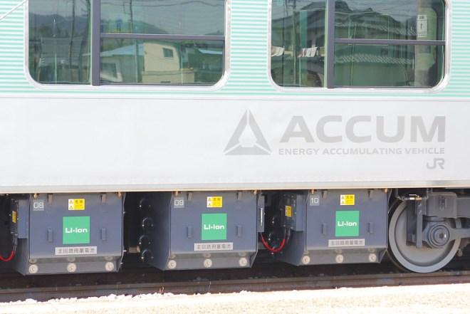 ACCUMの蓄電池