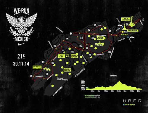 Ruta Nike We Run México 2014