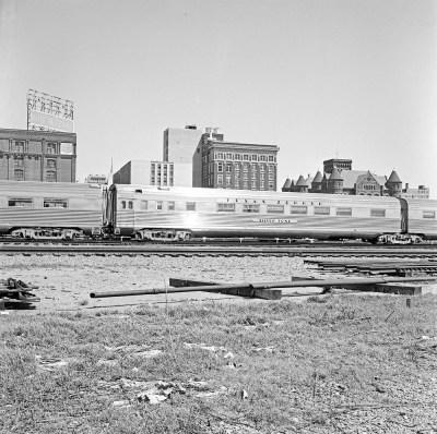 [Fort Worth & Denver City, Sleeping Car, 'Silver Tone']