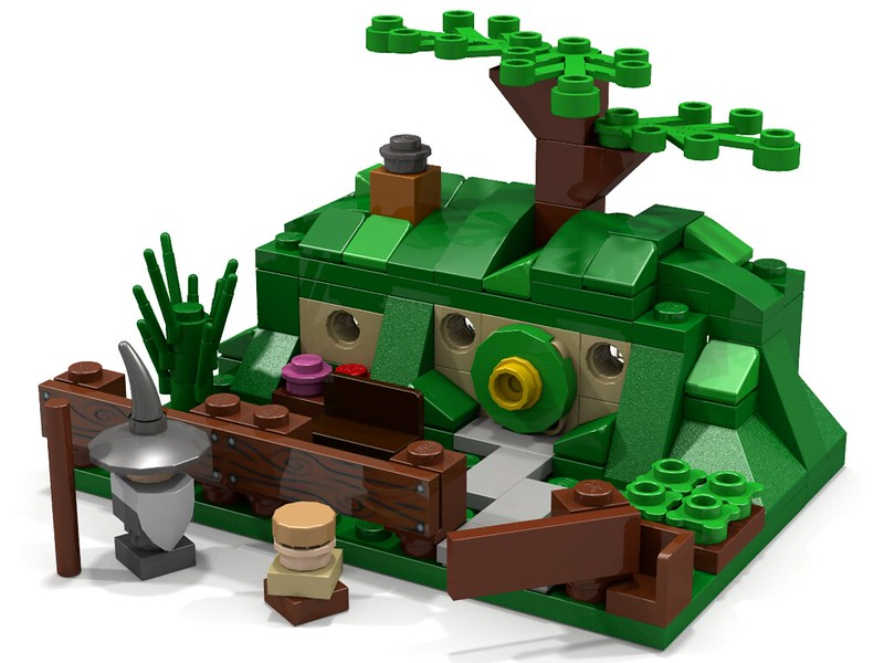 LEGO Micro Scale Bag End