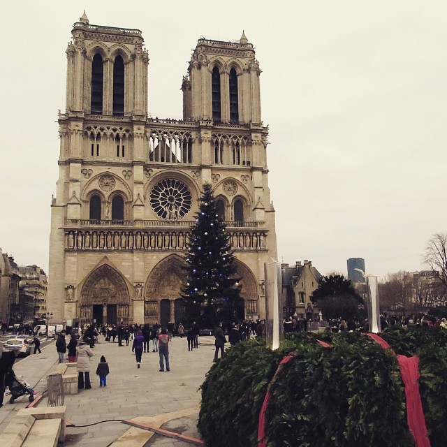 Paris Day One: Notre Dame.