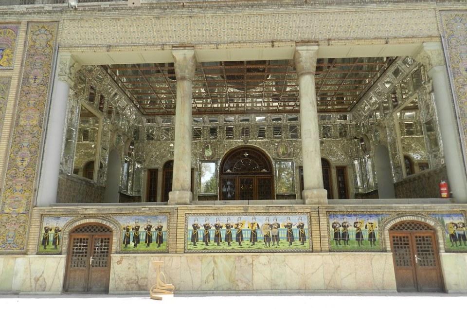 Palacio Museo Golestán Teherán Irán 08