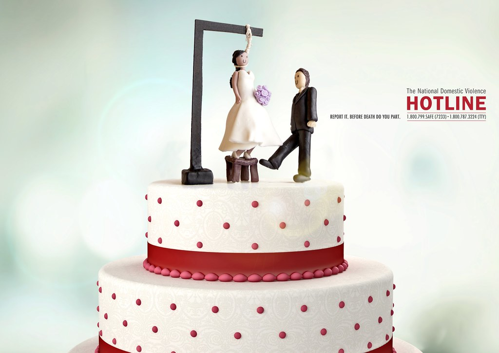 The National Domestic Violence Hotline - Wedding Cake 2