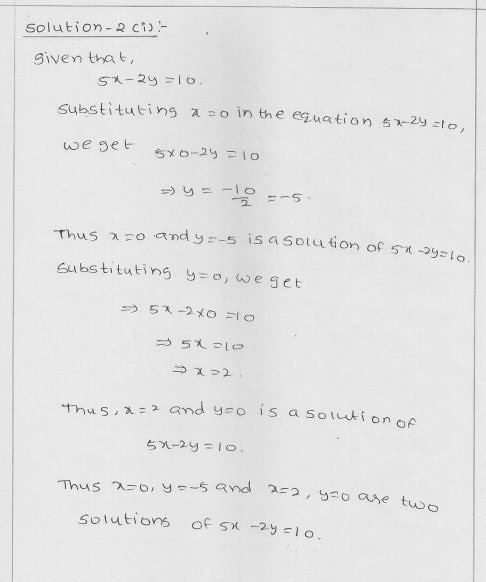 RD Sharma Class 9 Solutions Chapter 13 Linear Equations in Two Variables 25