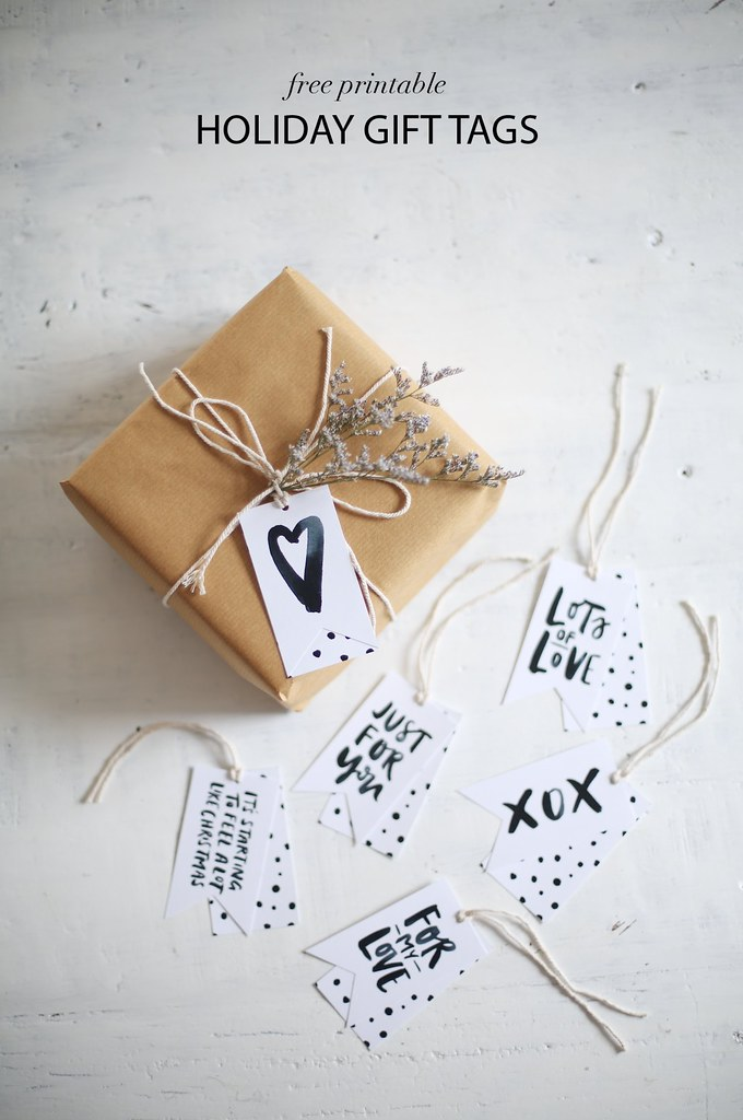 DIY PRINTABLE GIFT TAGS THEYRE FREE A Pair Amp A Spare
