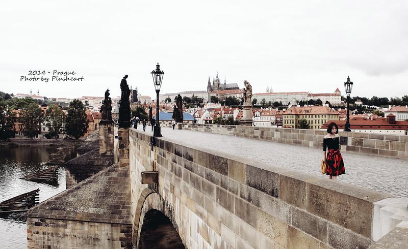 ▌布拉格 ▌七點鐘的查理大橋